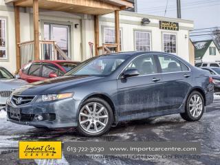 Used 2008 Acura TSX w/Nav Pkg for sale in Ottawa, ON