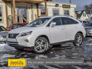 Used 2014 Lexus RX 350 AWD ROOF NAVI HEATED&VENT SEATS for sale in Ottawa, ON