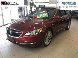 Used 2017 Buick LaCrosse PREMIUM 2 MODEL AWD NAV SUNROOF FULLY LOADED for sale in Ottawa, ON