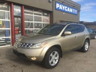 Used 2005 Nissan Murano SL for sale in Kitchener, ON