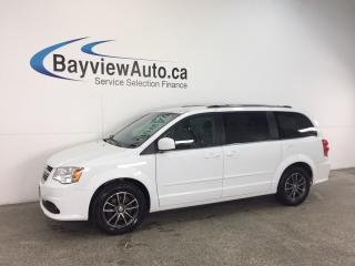 Used 2017 Dodge Grand Caravan SE- STOW 'N GO|DVD|NAV|UCONNECT|PWR TRUNK! for sale in Belleville, ON