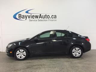 Used 2016 Chevrolet Cruze - 1.8L|AUTO|A/C|BLUETOOTH|ON STAR|UNDER 5700KM! for sale in Belleville, ON