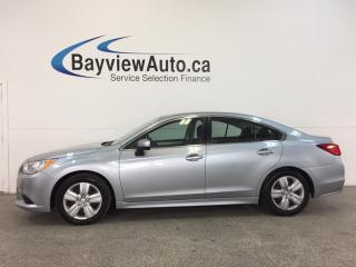 Used 2015 Subaru Legacy - AWD AUTO HTD STS REV CAM SUBARU STARLINK CRUISE! for sale in Belleville, ON