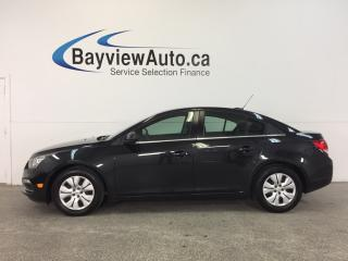 Used 2016 Chevrolet Cruze LT- TURBO|REM STRT|A/C|BLUETOOTH|ON STAR|CRUISE! for sale in Belleville, ON