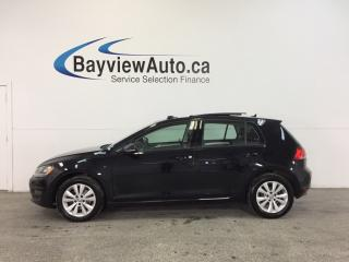 Used 2015 Volkswagen Golf COMFORTLINE- TDI|SUNROOF|HTD LTHR|NAV|REV CAM! for sale in Belleville, ON