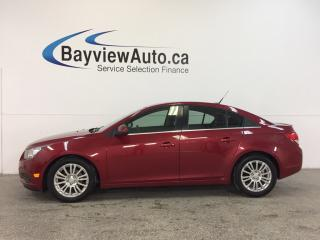 Used 2012 Chevrolet Cruze - 6 SPEED|TURBO|A/C|BLUETOOTH|CRUISE|LOW KM! for sale in Belleville, ON