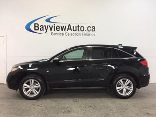 Used 2015 Acura RDX - AWD|SUNROOF|HTD LTHR|NAV|BLUETOOTH|PWR TRUNK! for sale in Belleville, ON
