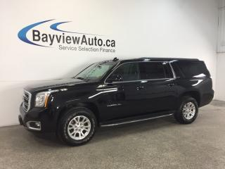 Used 2017 GMC Yukon XL SLE- 4x4|REM STRT|8 PASS|REV CAM|BOSE|INTELLILINK! for sale in Belleville, ON
