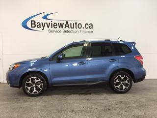 Used 2015 Subaru Forester XT- AWD|SUNROOF|HTD STS|REV CAM|BLUETOOTH|CRUISE! for sale in Belleville, ON