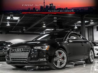 Used 2013 Audi S5 TECHNIK|SPORT DIFF|BLINDSPOT|NAVI|B&O|REAR CAM|LOADED for sale in North York, ON