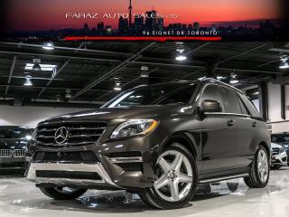 Used 2014 Mercedes-Benz ML 350 AMG|NAVI|BLINDSPOT|360 CAM|BLUETEC|LOADED for sale in North York, ON
