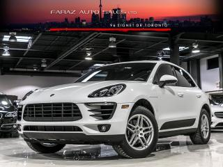 Used 2017 Porsche Macan SPORT|NAVI|LANE ASSIST|REAR CAM|PANO|LOADED for sale in North York, ON