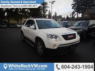 Used 2012 GMC Acadia SLT Front and Rear Audio Controls, Bluetooth & Radio Data System for sale in Surrey, BC