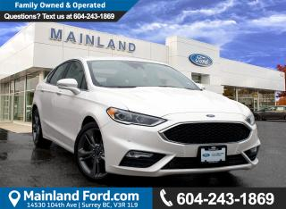 Used 2017 Ford Fusion V6 Sport LOW KMS, ACCIDENT FREE, BC LOCAL for sale in Surrey, BC