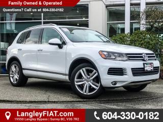 Used 2013 Volkswagen Touareg 3.6L Comfortline B.C OWNED! for sale in Surrey, BC