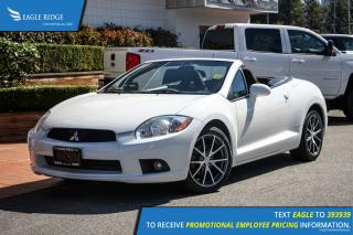 Used 2012 Mitsubishi Eclipse Spyder GS Backup Camera, Bluetooth for sale in Port Coquitlam, BC