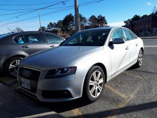 Used 2010 Audi A4 6 speed-2.0T PREMIUM for sale in Scarborough, ON