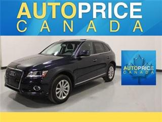 Used 2016 Audi Q5 NAVIGATION PANOROOF REAR CAM AND MORE for sale in Mississauga, ON