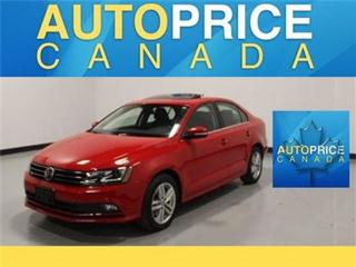 Used 2015 Volkswagen Jetta TDI Highline NAVI LEATHER MOONROOF for sale in Mississauga, ON