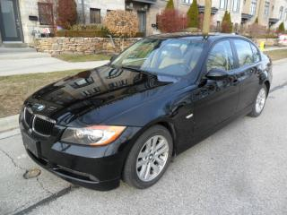 Used 2007 BMW 3 Series 328i, LOW KMS, CERTIFIED, NEW TIRES, NO ACCIDENTS for sale in Etobicoke, ON