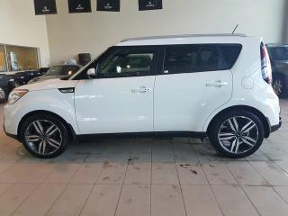 Used 2015 Kia Soul SX - Heated Leather, B/U Cam + Media Inputs! for sale in Red Deer, AB