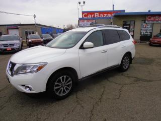 Used 2014 Nissan Pathfinder SL LEATHER 7 PSSGR 4WD for sale in Brampton, ON