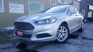 Used 2015 Ford Fusion SE-LOW LOW KM-OFF LEASE-FACTORY WARRANTY for sale in Tilbury, ON