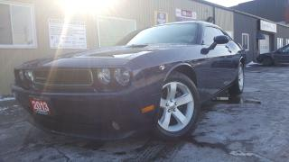 Used 2013 Dodge Challenger SXT Plus-3.6L-LEATHER-SUNROOF for sale in Tilbury, ON