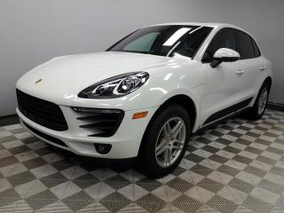Used 2017 Porsche Macan CERTIFIED PRE-OWNED | AWD | Premium PLUS | NAV | BOSE for sale in Edmonton, AB