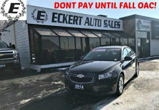 Used 2014 Chevrolet Cruze 1LT WITH BLUETOOTH for sale in Barrie, ON