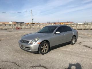 Used 2004 Infiniti G35 Luxury for sale in Mississauga, ON