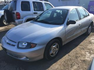 Used 2004 Chevrolet Cavalier VL for sale in Mississauga, ON