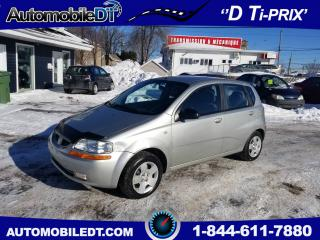 Used 2005 Pontiac Wave Automatique for sale in Lévis, QC