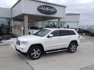 Used 2012 Jeep Grand Cherokee Overland / LOADED / NO PAYMENTS FOR 6 MONTHS !!! for sale in Tilbury, ON