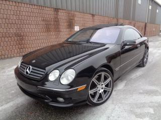 Used 2001 Mercedes-Benz CL600 V12 - AMG PKG - NAVIGATION for sale in Etobicoke, ON