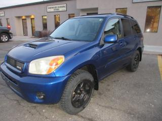 Used 2005 Toyota RAV4 4WD CHILI EDITION,5 SPEED MANUAL for sale in Burlington, ON