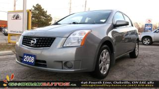 Used 2008 Nissan Sentra 2.0|LOW KM|ALLOYS|NO ACCIDENT|CERTIFIED for sale in Oakville, ON