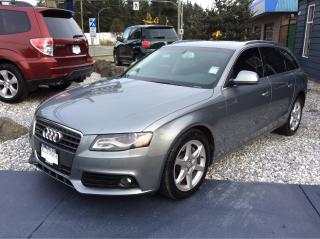 Used 2009 Audi A4 quattro for sale in Parksville, BC