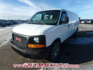 Used 2007 GMC G3500 SAVANA EXT CARGO VAN for sale in Calgary, AB