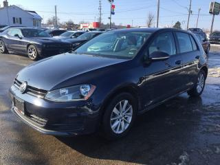 Used 2017 Volkswagen GOLF TSI SEL * REAR CAM * HEATED SEATS * LOW KM for sale in London, ON