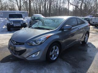 Used 2013 Hyundai ELANTRA COUPE GS PZEV * 1 OWNER * HEATED SEATS * BLUETOOTH * MOONROOF * SIRIUS RADIO * LOW KM for sale in London, ON