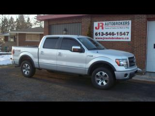 Used 2013 Ford F-150 FX4 EcoBoost Crew Cab 4X4 - Sharp Truck! for sale in Elginburg, ON