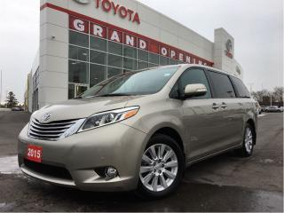 Used 2015 Toyota Sienna LIMITED AWD LOADED for sale in Pickering, ON