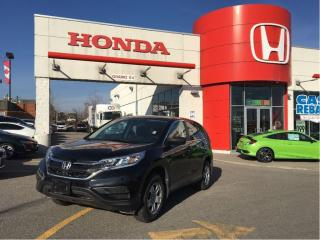 Used 2015 Honda CR-V LX, one owner, clean carproof report, low mileage for sale in Scarborough, ON
