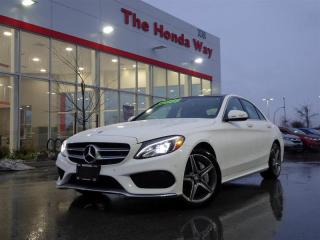 Used 2015 Mercedes-Benz C-Class C300 C300 4MATIC Sedan for sale in Abbotsford, BC