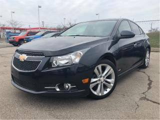 Used 2014 Chevrolet Cruze 2LT RS LEATHER SUNROOF REAR CAMERA for sale in St Catharines, ON