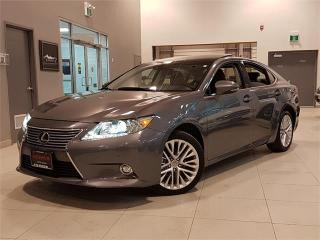 Used 2014 Lexus ES 350 NAVIGATION-CAMERA-PANO ROOF-LOADED-ONLY 72KM for sale in York, ON