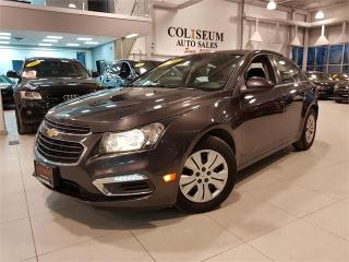 Used 2016 Chevrolet Cruze Limited LT-AUTOMATIC-CAMERA-REMOTE START-ONLY 31KM for sale in York, ON
