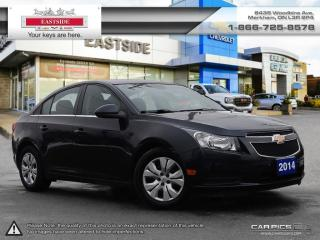 Used 2014 Chevrolet Cruze - for sale in Markham, ON