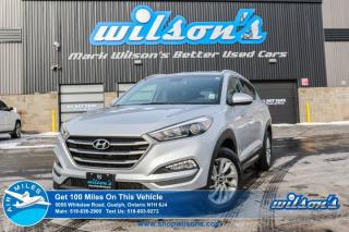 Used 2016 Hyundai Tucson PREMIUM 2.0L AWD! REAR CAMERA! BLUETOOTH! HEATED SEATS! BLIND SPOT MONITOR! ALLOYS! for sale in Guelph, ON